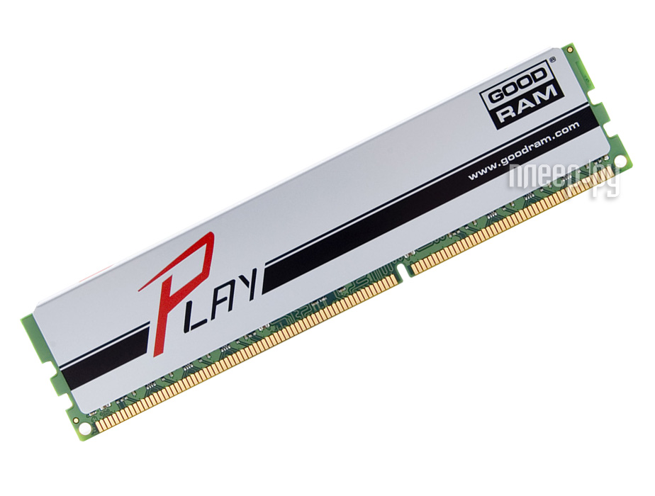 Модуль памяти GoodRAM DDR3 DIMM 1866MHz PC3-15000 CL10 - 8Gb GYS1866D364L10 / 8G