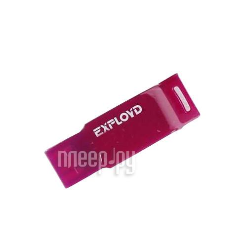 USB Flash Drive 4Gb - Exployd 560 Violet EX-4GB-560-Violet