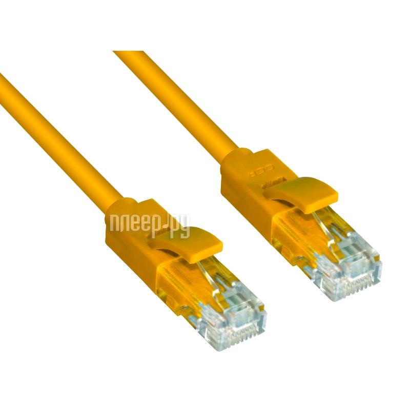 Аксессуар Greenconnect UTP 24AWG cat.5e RJ45 T568B 0.15m Yellow GCR-LNC02-0.15m