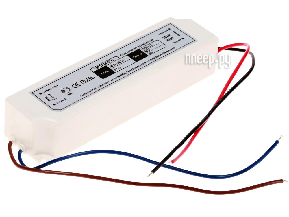 Блок питания Crixled CRP VW60-12 5A 60W 12V IP67