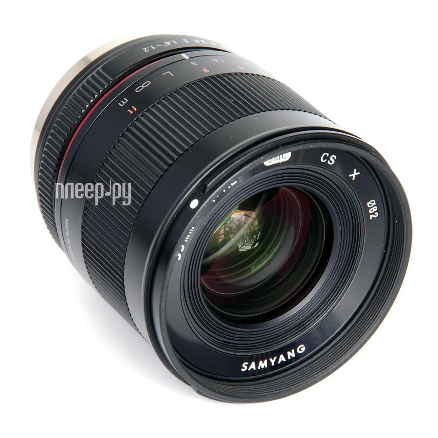 Объектив Samyang Sony E 35 mm F/1.2 ED AS UMC CS