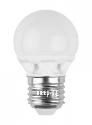 Купить Лампочка Camelion G45 3W 220V E27 3000K 245 Lm LED3-G45/830/E27