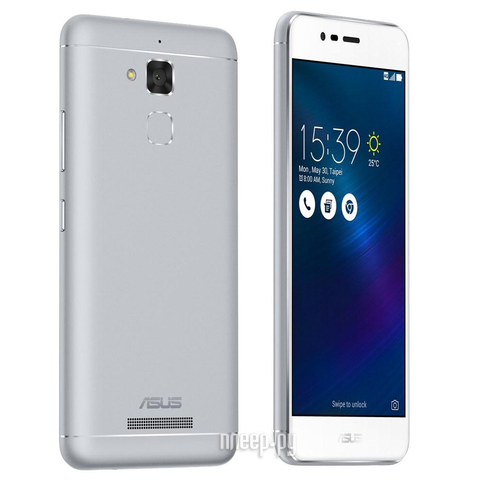 Сотовый телефон ASUS ZenFone 3 Max ZC520TL 16Gb Silver