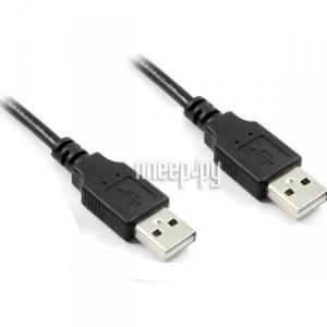 Купить Аксессуар Greenconnect PRO USB 2.0 AM-AM Black GCR-UM2M-BD2S-0.5m