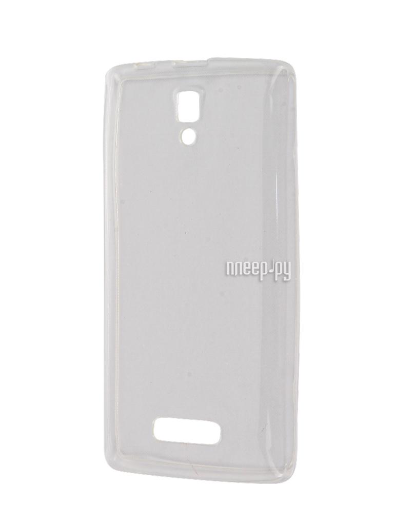Аксессуар Чехол Lenovo A2010 Zibelino Ultra Thin Case White ZUTC-LEN-A2010-WH