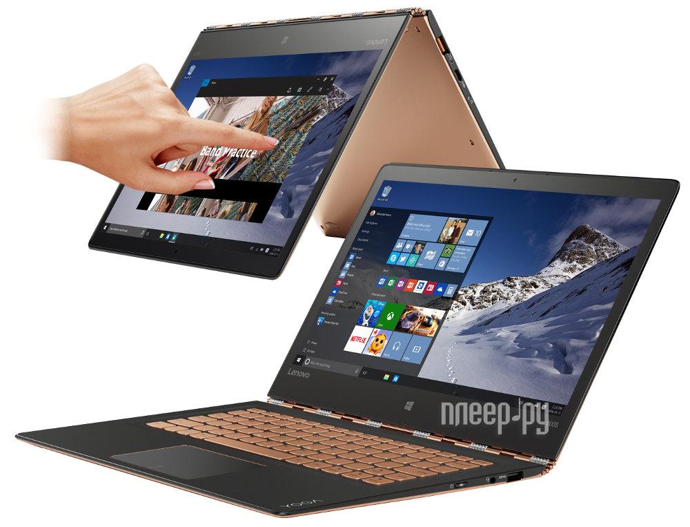 Ноутбук Lenovo Yoga 900S 80ML005DRK (Intel Core M5-6Y54 1.1 GHz / 8192Mb / 256Gb SSD / No ODD / Intel HD Graphics / Wi-Fi / Bluetooth / Cam / 12.5 / 2560x1440 / Windows 10 64-bit)