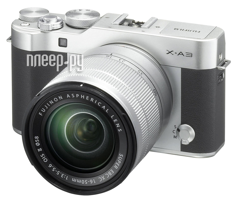 Фотоаппарат FujiFilm X-A3 Kit XC 16-50 mm f / 3.5-5.6 OIS II Silver