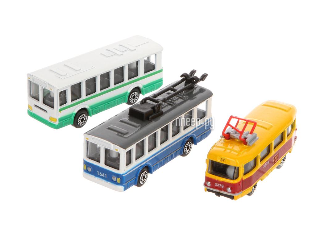 Машина Технопарк Городской транспорт SB-14-10