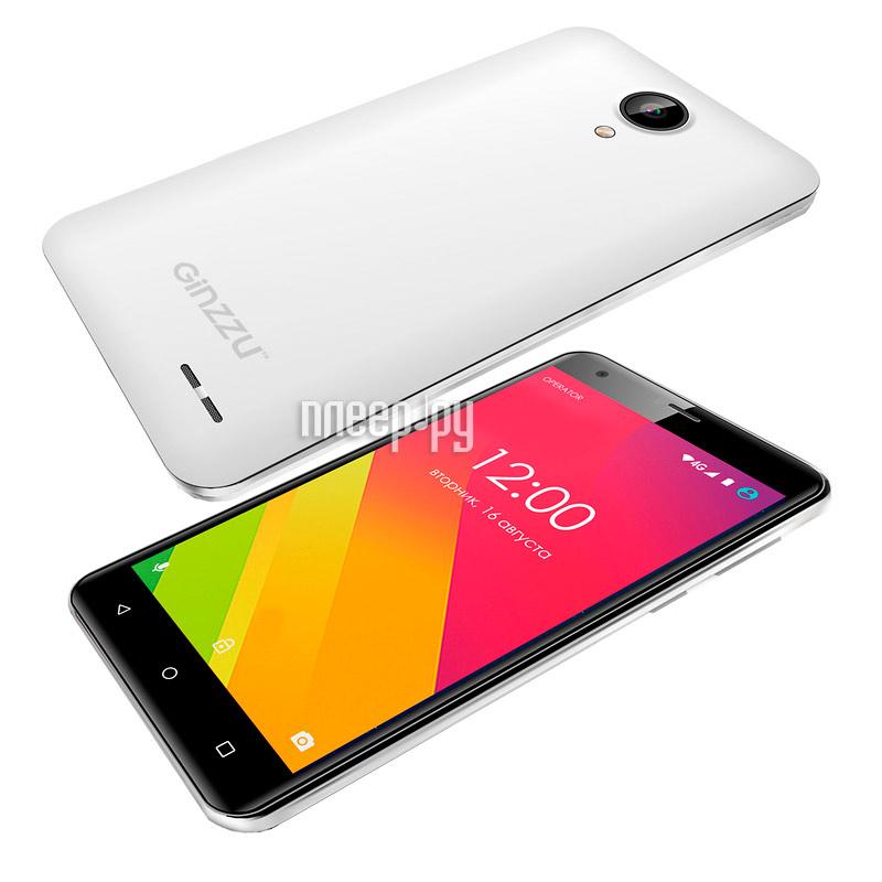 Сотовый телефон Ginzzu S5510 White