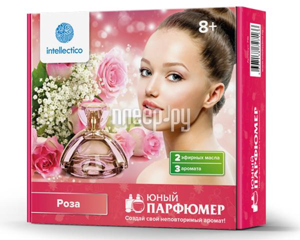 Набор Intellectico Юный парфюмер мини Роза 26557