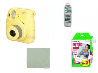 Фотоаппарат FujiFilm 8 Instax Mini Yellow Выгодный набор!!!