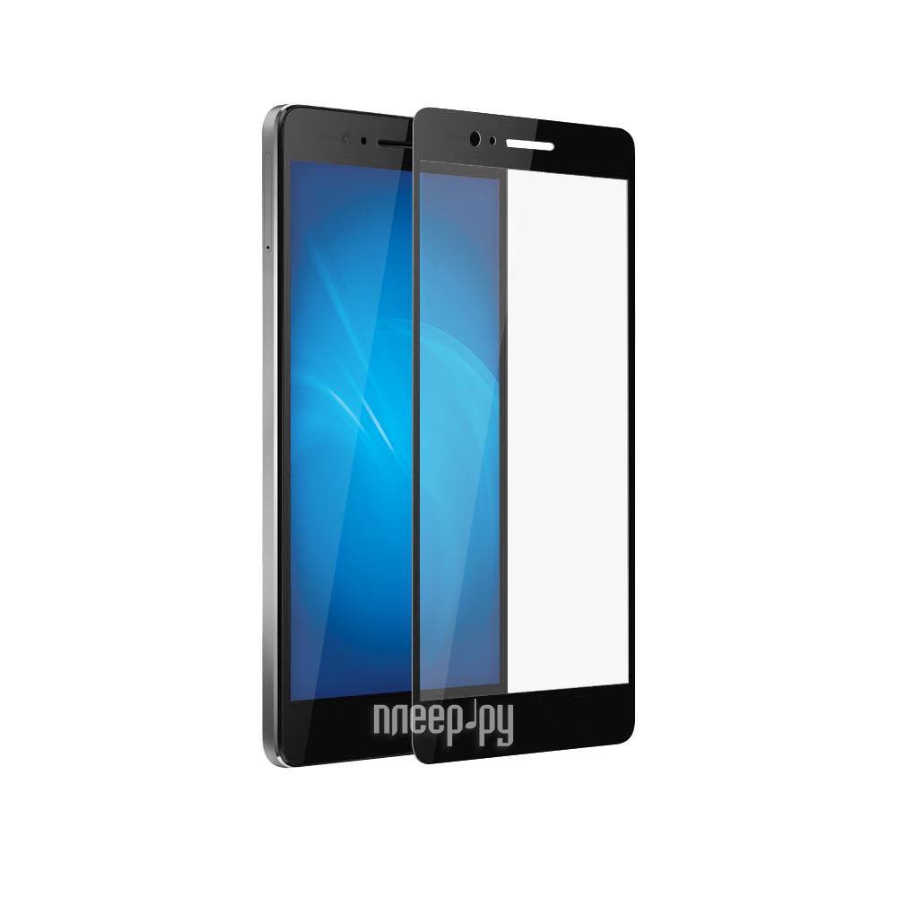 Аксессуар Закаленное стекло Huawei Honor 8 DF Fullscreen hwColor-03 Black купить