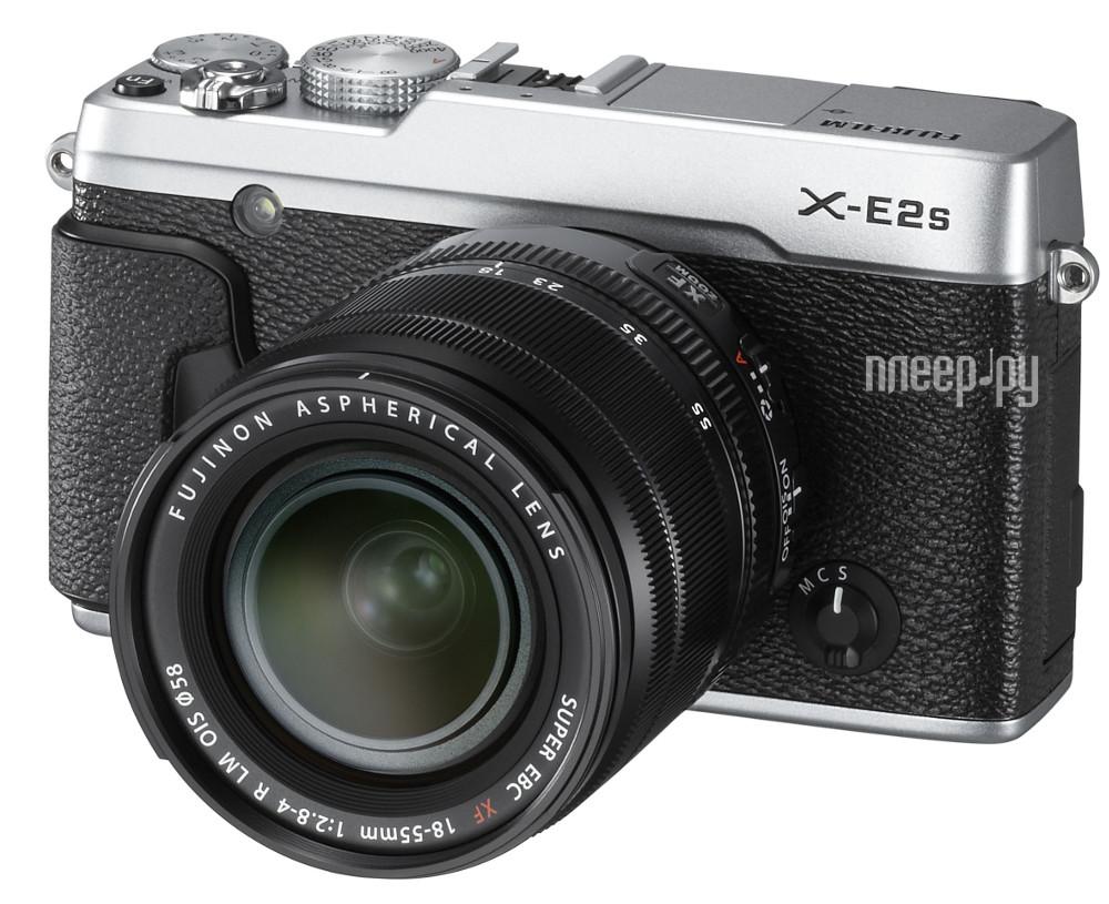 Фотоаппарат FujiFilm X-E2S Kit XF 18-55 mm Silver