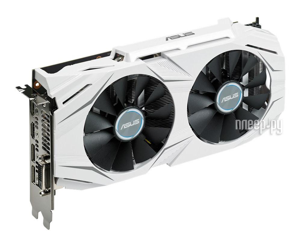 Видеокарта ASUS GeForce GTX 1060 1569Mhz PCI-E 3.0 3072Mb 8008Mhz 192 bit DVI 2xHDMI HDCP DUAL-GTX1060-O3G
