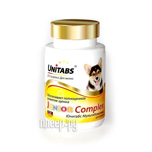 Витамины Unitabs Junior Complex c B9 100 таблеток для щенков U207