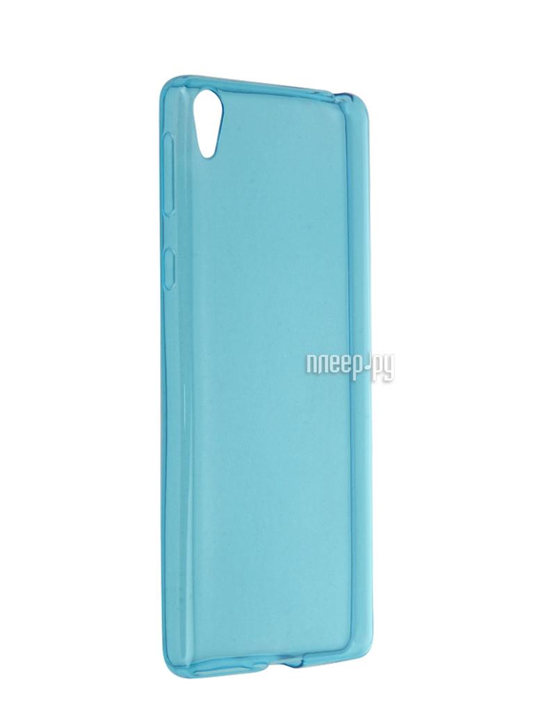 Аксессуар Чехол Sony Xperia E5 iBox Crystal Blue