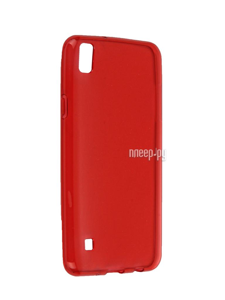 Аксессуар Чехол LG X Style iBox Crystal Red