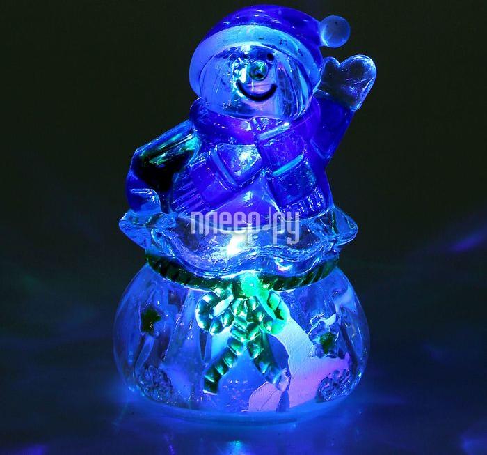 Новогодний сувенир Luazon Подарок от снеговика RGB 1077338