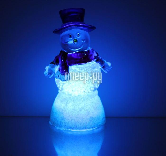 Новогодний сувенир Luazon Снеговик добряк RGB 1077345