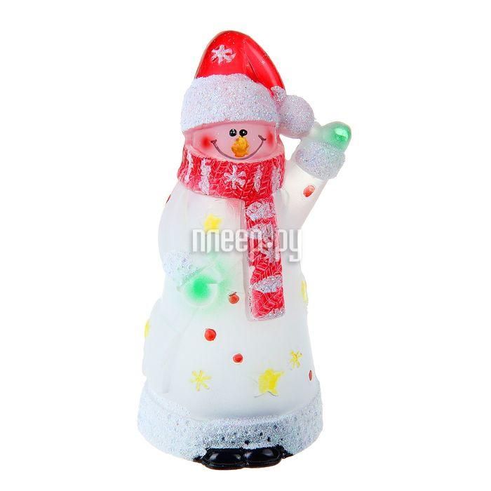 Новогодний сувенир Vegas Снеговик LED 55054