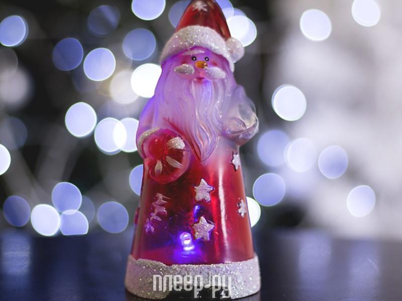 Новогодний сувенир Luazon Дед мороз усач RGB 1077355