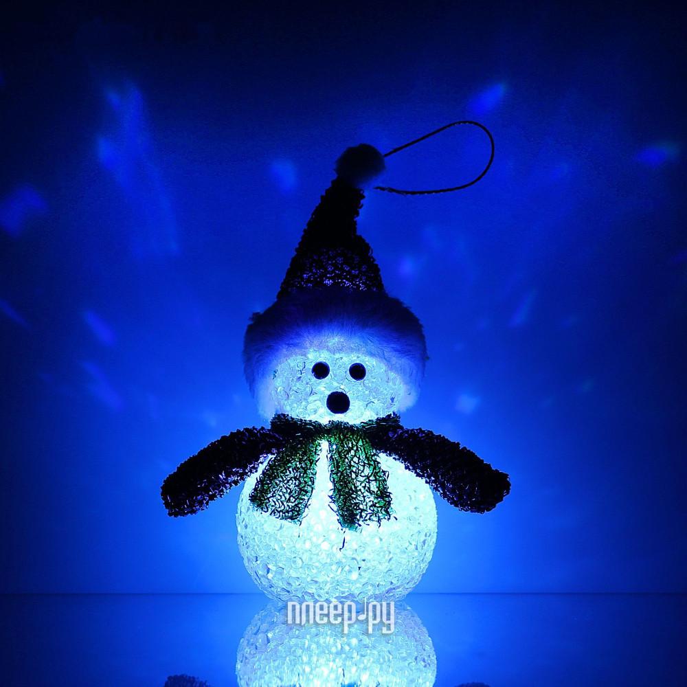 Новогодний сувенир Luazon Снеговик новогодний Red 1077491