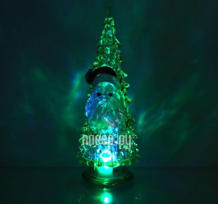 Новогодний сувенир Luazon Ёлочка Дед мороз Green 1353371