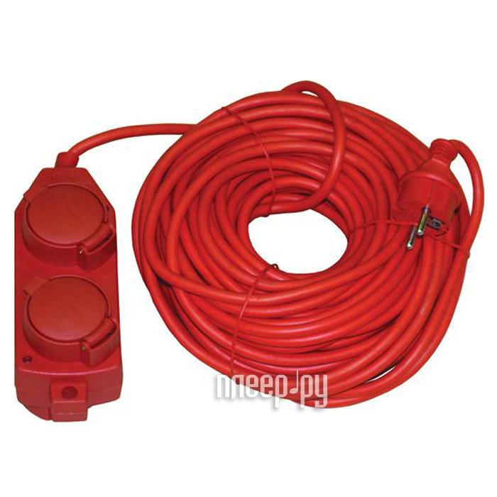 Удлинитель Volsten SG 4x50-Zr 4 Sockets 50m Red 9376
