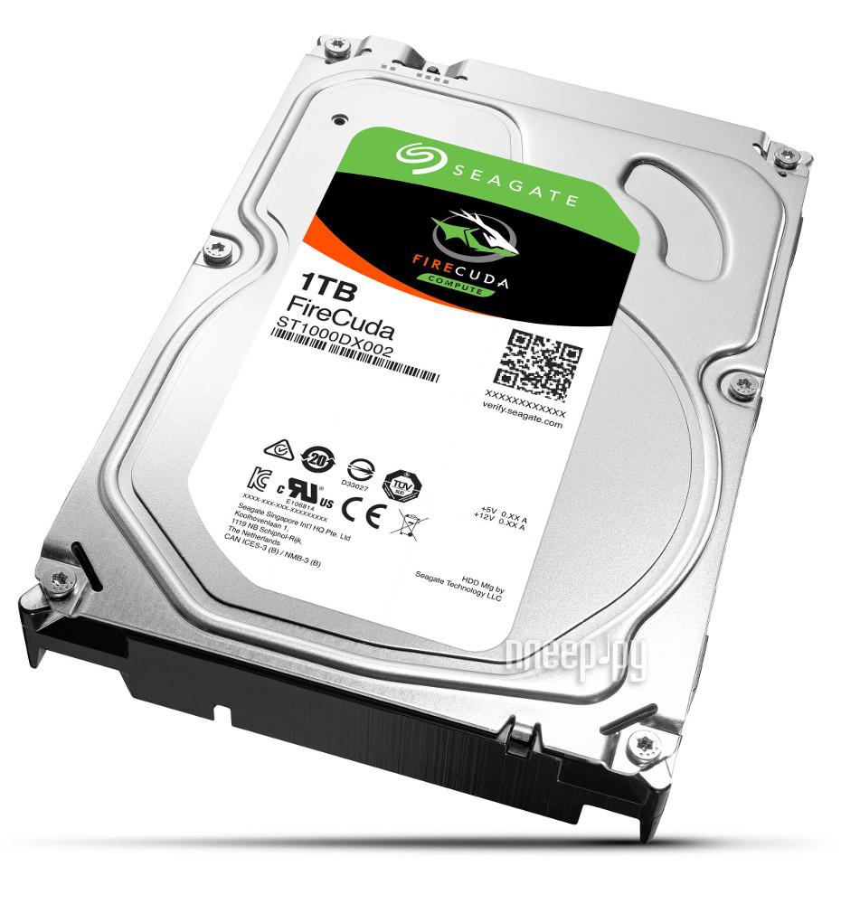 Жесткий диск 1Tb - Seagate FireCuda SSHD ST1000DX002
