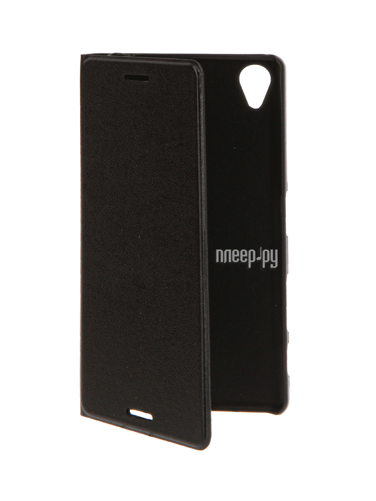 Аксессуар Чехол Sony Xperia X BROSCO Black X-BOOK-BLACK