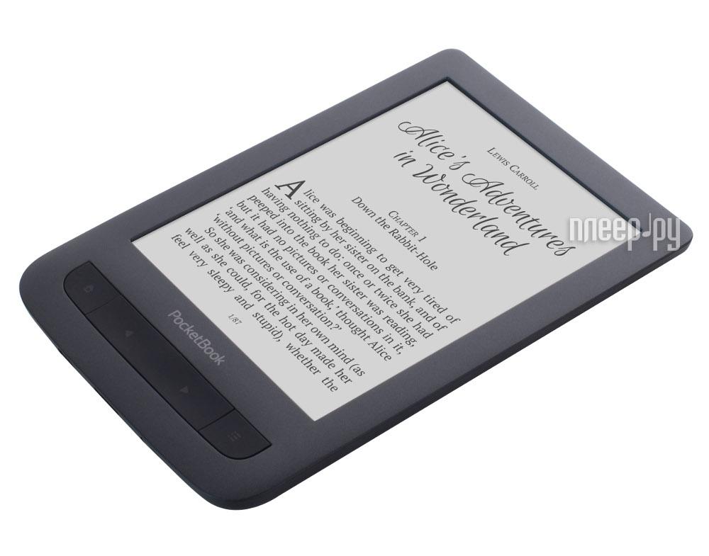 Электронная книга PocketBook 625 Basic Touch 2 Black PB625-E-RU