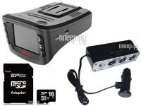 Видеорегистратор Sho-Me Combo 5-A7 Выгодный набор + подарок серт. 200Р!!!