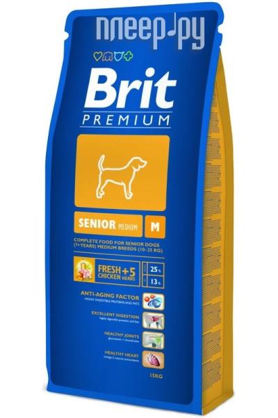 Корм Brit Premium Senior M 3kg для собак 132346