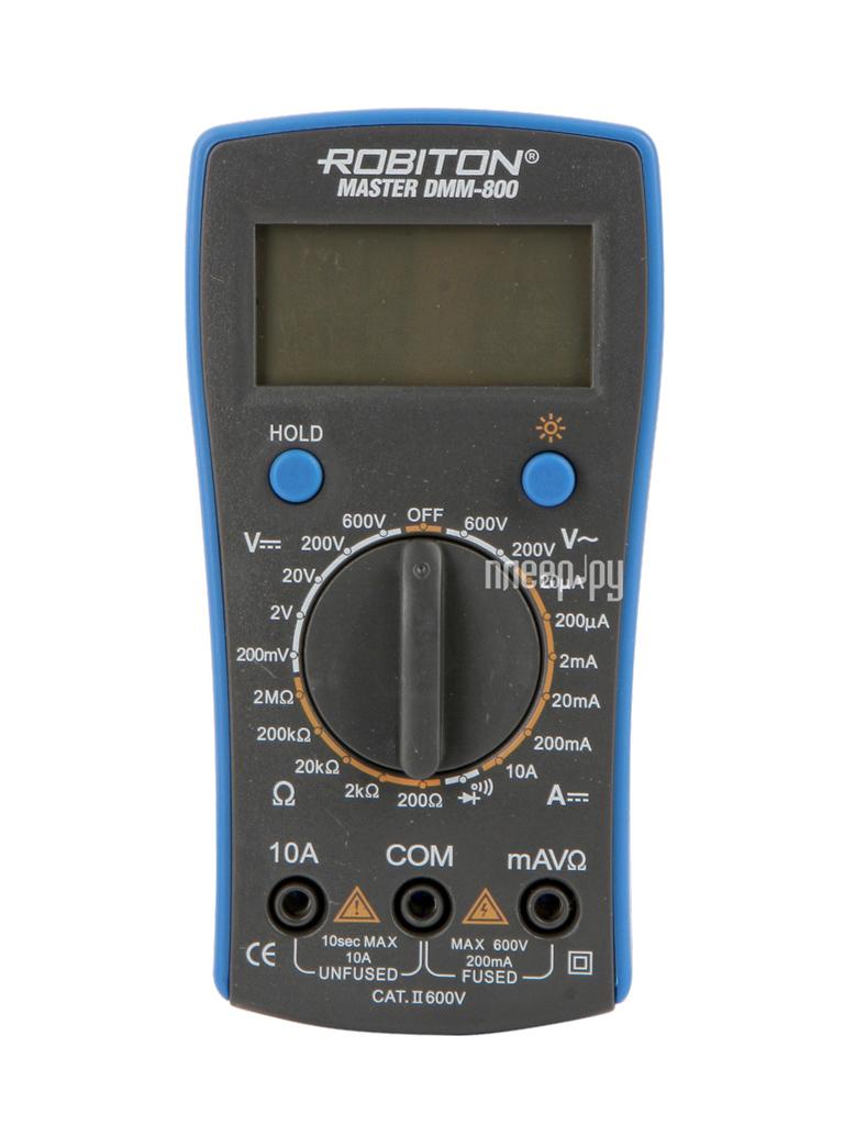 Мультиметр Robiton Master DMM-800 Black