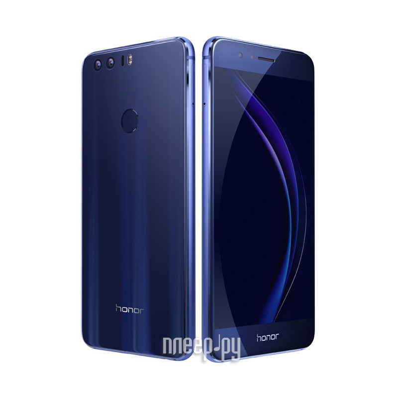Сотовый телефон Huawei Honor 8 4Gb RAM 32Gb FRD-L09 Blue за 19641 рублей