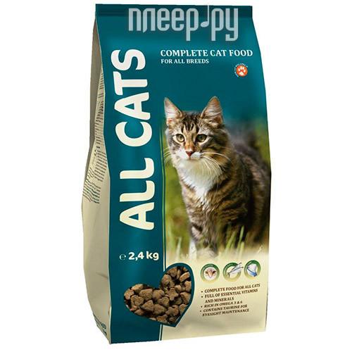 Корм ALL CATS полнорационный 2.4kg для взрослых кошек 6677