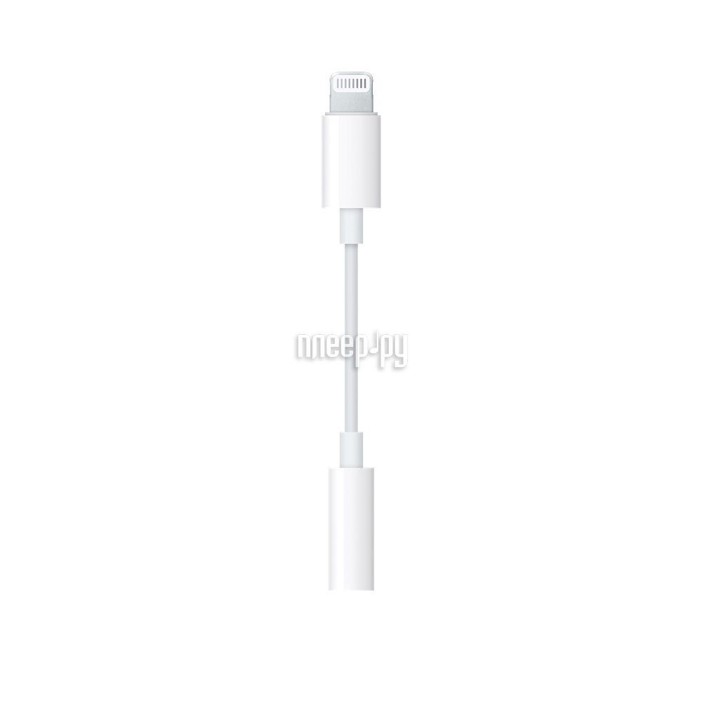 Аксессуар APPLE Lightning to 3.5mm Jack Adapter MMX62ZM / A