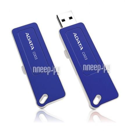 USB Flash Drive 32Gb - A-Data C003 Classic Blue AC003-32G-RBL купить в интернет-магазине, цена.