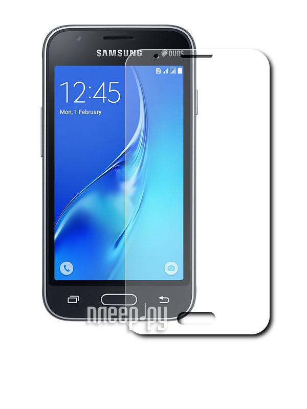 Аксессуар Защитное стекло Samsung Galaxy J1 Mini 2016 Dekken 0.26mm 2.5D глянцевое 203499