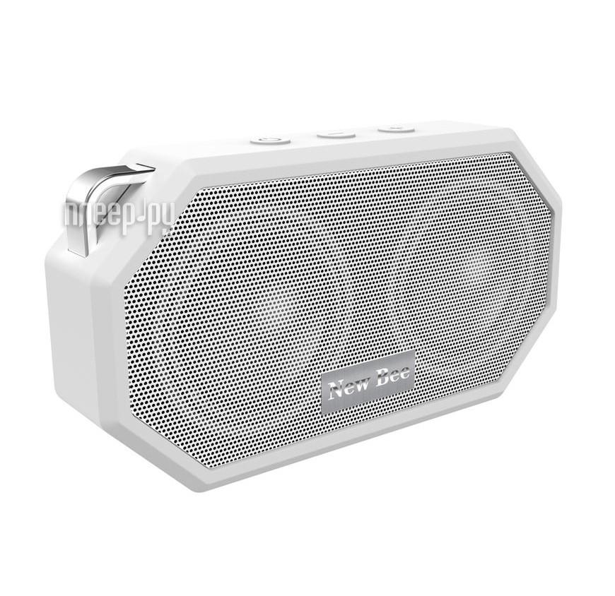 Колонка New Bee Bluetooth Speaker White