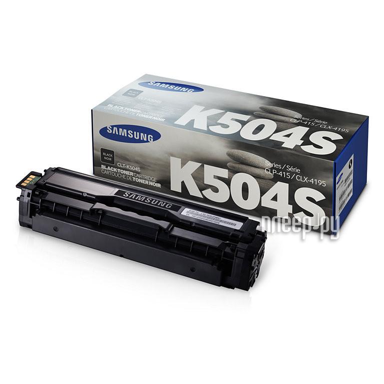Картридж Samsung CLT-K504S/SEE для CLX-4195/CLP-415 Black