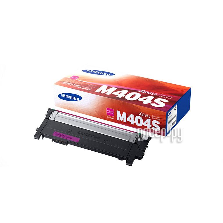 Картридж Samsung CLT-M404S/XEV для SL-C430/C430W/C480/C480W/C480FW Purple