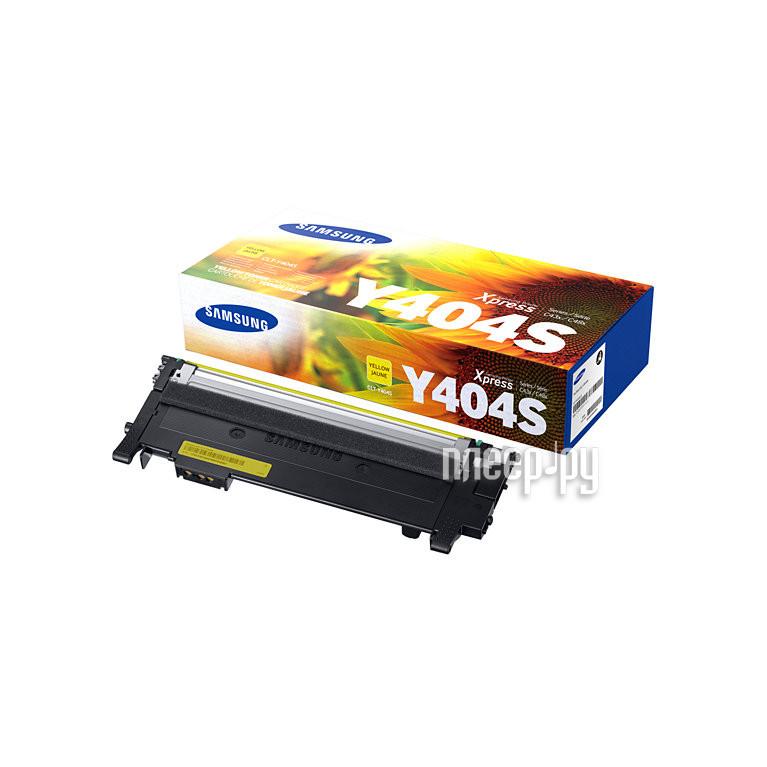 Картридж Samsung CLT-Y404S / XEV для SL-C430 / C430W / C480 / C480W / C480FW Yellow за 3394 рублей