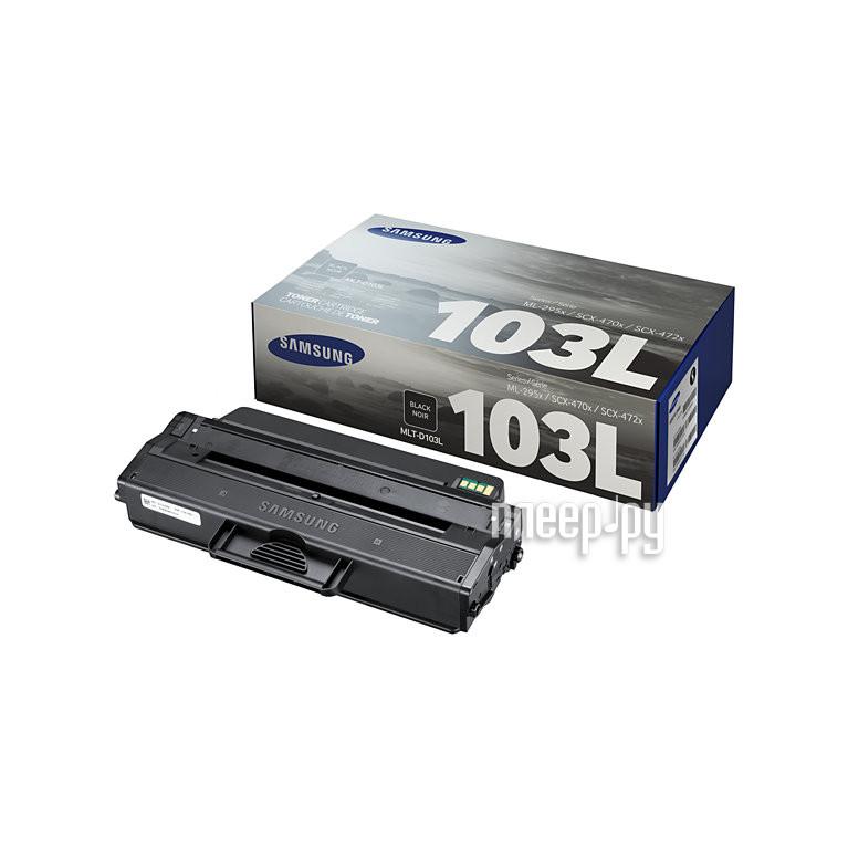 Картридж Samsung MLT-D103L для ML-2950ND/2955ND/2955DW Black