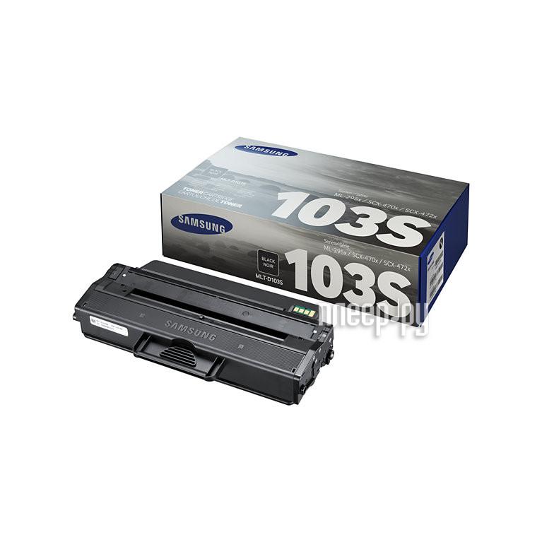 Картридж Samsung MLT-D103S для ML-2950ND/2955ND/2955DW Black