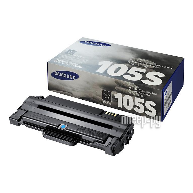 Картридж Samsung MLT-D105S для ML-1910 / 1950 / SCX-4600 / 4623 Black