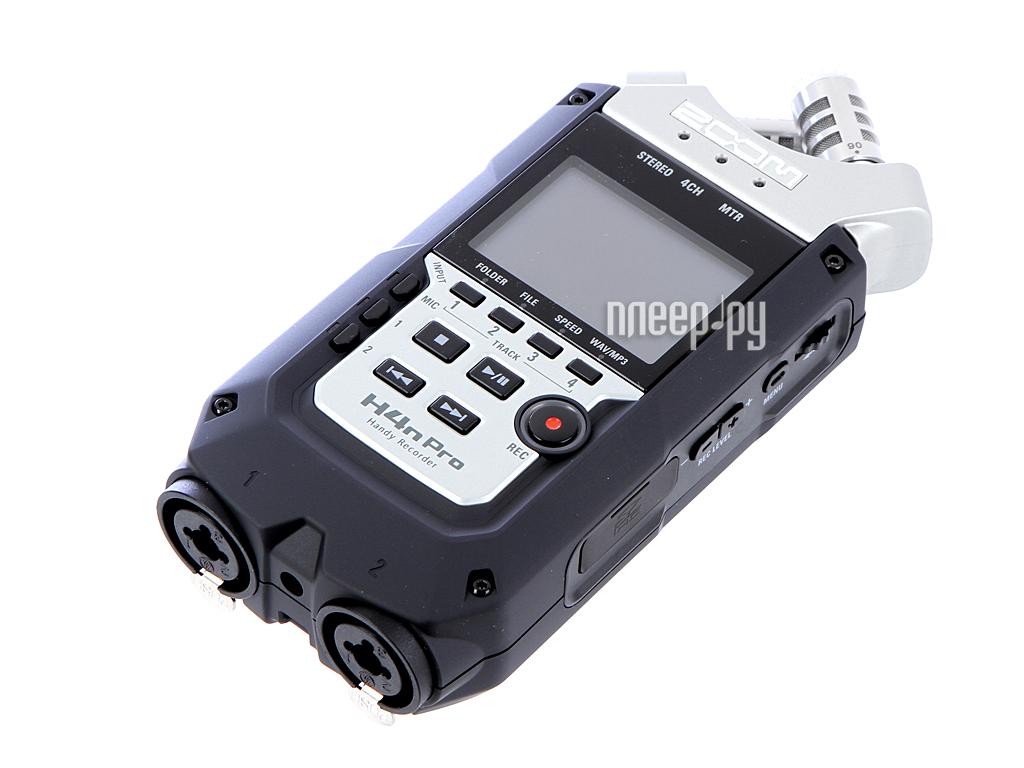 Цифровой диктофон Zoom H4n Pro