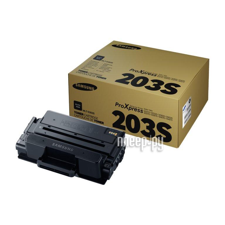 Картридж Samsung MLT-D203S для SL-M3320/3820/4020/M3370/3870/4070 Black