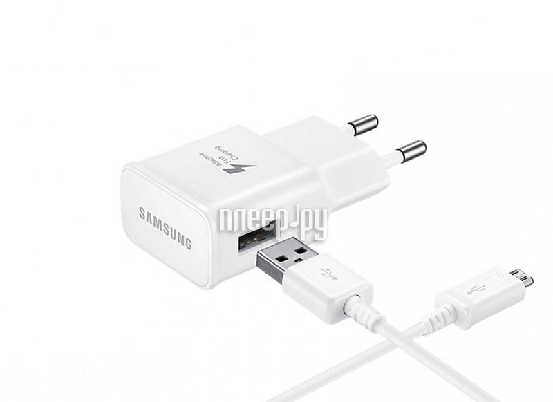 Зарядное устройство Samsung USB Type-C White EP-TA20EWECGRU