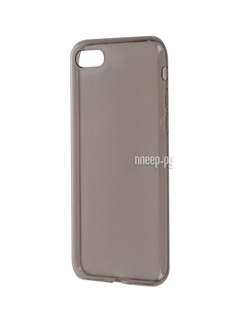 Аксессуар Чехол BROSCO для APPLE iPhone 7 Black IP7-TPU-BLACK
